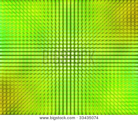 Green LED Dots Abstract Background