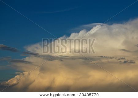 Cumulonimbus formation New Mexico