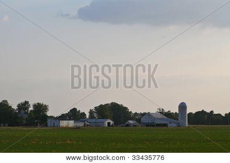 Great plains farmhouses