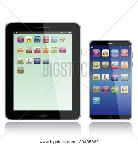 Tablet Pc e Smartphone