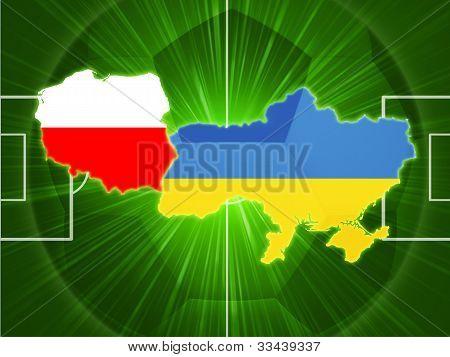 Poland And Ukraine Football