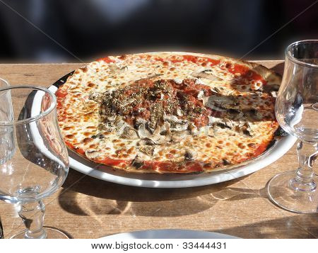 Pizza And Lasagna
