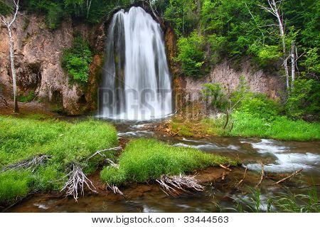 Spearfish Falls Of The Black Hills