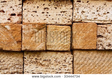 Building Bricks From The Coquina
