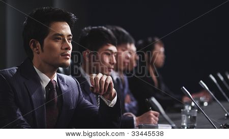 businessmen in meeting