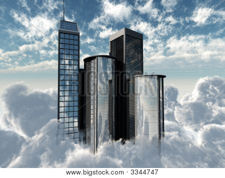 Flying Skyscrapers