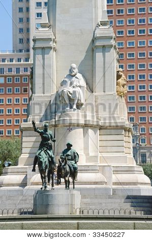 Don Quixote Statue, Madrid