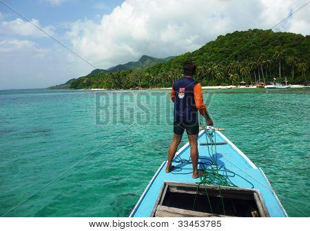 anchored on the headland Gelam