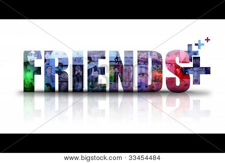 Social Friends Icon Logo