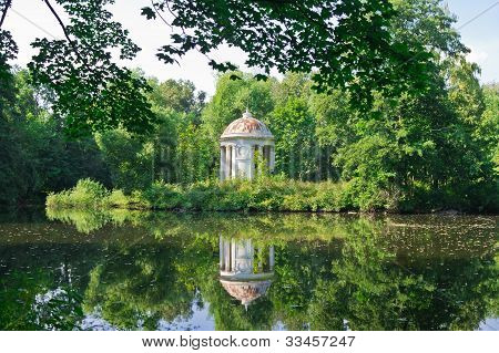 One Ancient Summerhouse In Forest