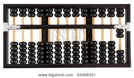 Abacus showing two