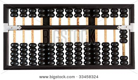 Abacus showing three