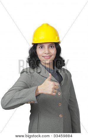 Success Female Architect