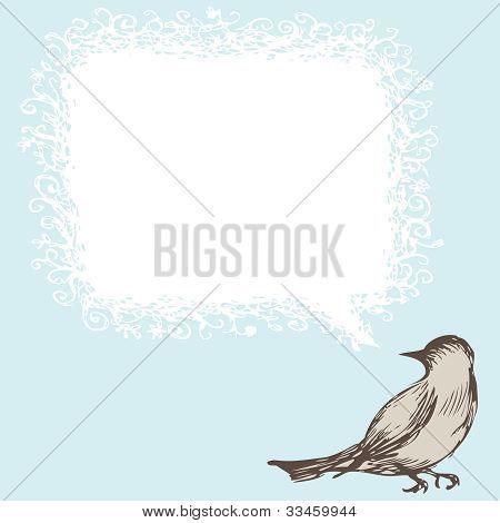 Vogel einladen