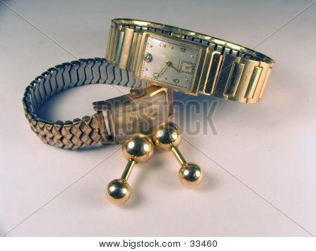 Watches With Cufflinks
