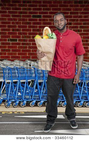 Hombre de compras