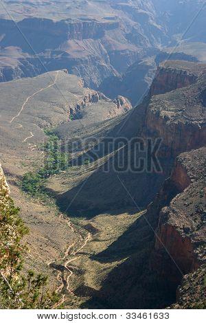 Colorado River Runs Through The Grand Canyon