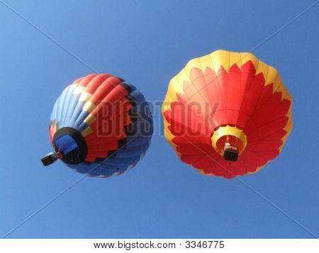 Hot Air Balloon Pair