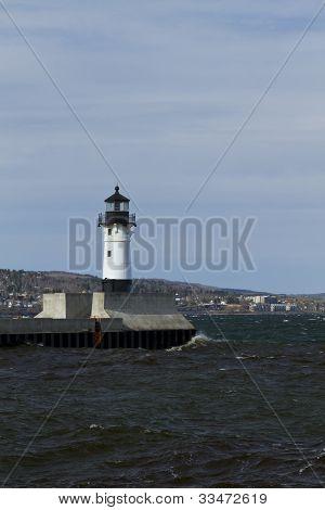 Duluth N Pier Lighthouse
