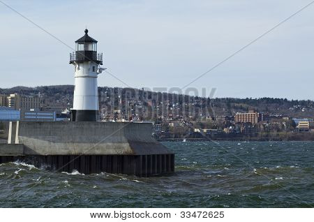 Duluth N Pier Lighthouse