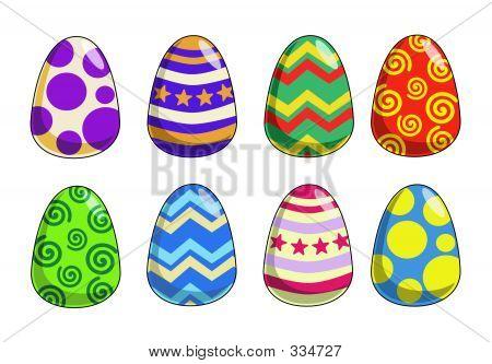 Funky Easter Eggs