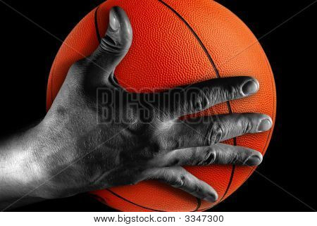 Hand With Ball