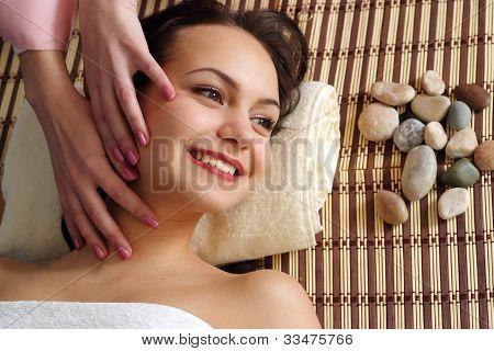 My Dear Beautiful Happy Woman On The Procedure