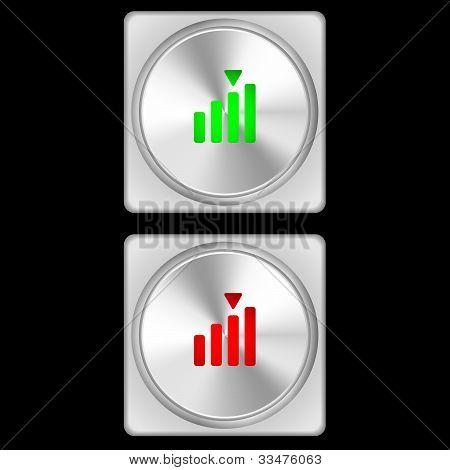Button - Signal Strength
