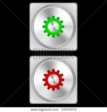 Button - Setings
