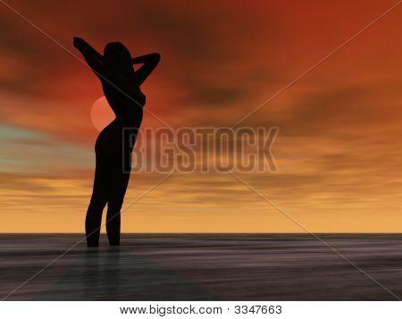 Sunset Nude
