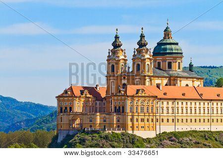 Melk - Famous Baroque Abbey (stift Melk), Austria