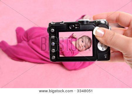 Newborn Baby Girl Snapshot