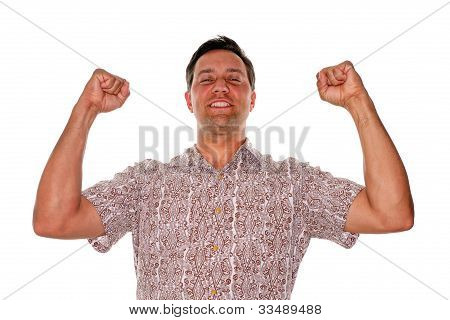 Excited And Happy Man