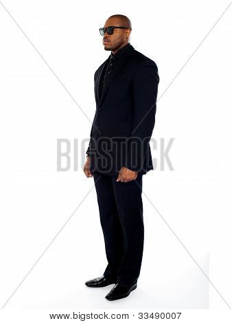 Dashing Young African Businessman