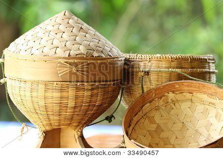 Stick  rice  box