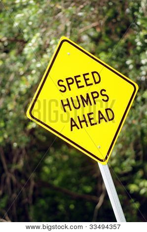 Speed Humps Ahead