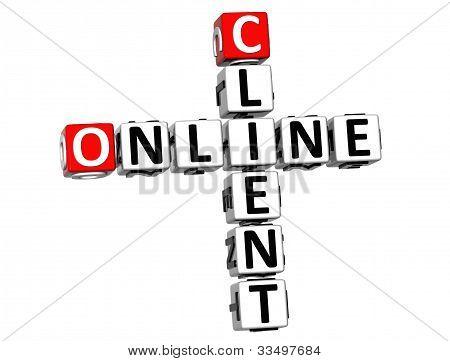 3D Online Client Crossword