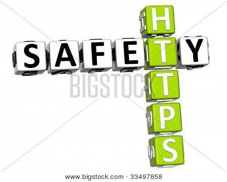 3D Safety Https Crossword