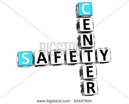 3D Safety Center Crossword