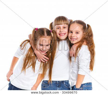 Tres chica atractiva