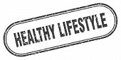 Healthy Lifestyle Stamp. Healthy Lifestyle Square Grunge Sign. Healthy Lifestyle poster