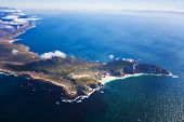 Aerial Of Cape Point, Cape Town, South Africa poster