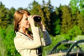 stock photo of voyeur  - Tourist - JPG