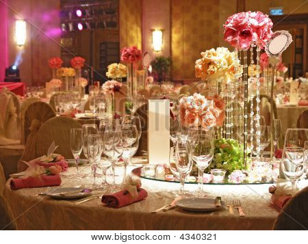 Wedding Table Setting Stock Photo & Stock Images | Bigstock