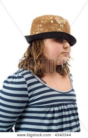 Girl Wearing A Hat
