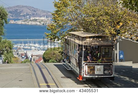 San Francisco - el tranvía de Cable Car