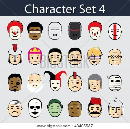 Character Icon Set 4
