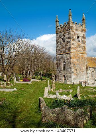 St Wynwallow Church Cornwall