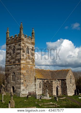 St Wynwallow's Church Cornwall