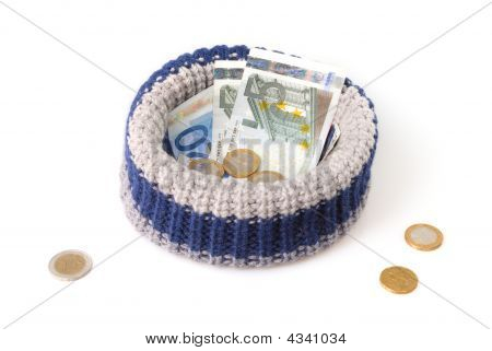 Beggar Hat Isolated On White